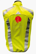 New thick safety reflective kintted jacket with pockets meets EN471 Class 2