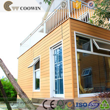 high quality wall covering wood composite exterior siding panels