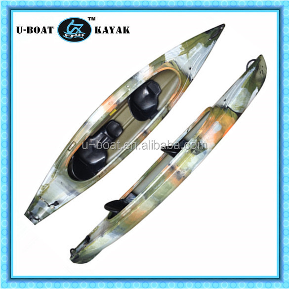 Sea Ocean Touring Kayak double 2 persons sit in Boating, Camping, Fishing