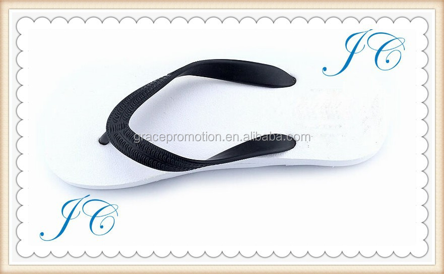 Newly Beach Wholesale Style Flip Flops with custom logo printing for promotional