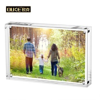 Wholesale 4x6 5x7 6x8 a4 Two Sides Acrylic Picture Frames Acrylic Magnetic Photo Frame