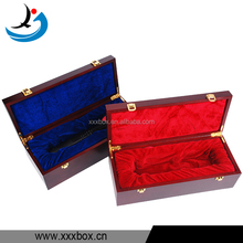 Handmade Double Locking Wooden Microphone Gift Box