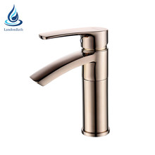 KAIPING modern brass mixer tap bathroom deck mounted water basin faucet