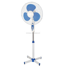 High quality electric stand fan with timer and 3 speeds home appliances FS-1635