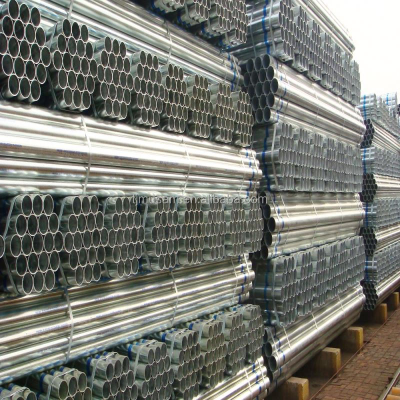 Made In Tianjin, China BS1387 G I Pipe Galvanized Iron Pipe Price