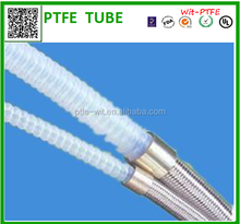 Low temperature tolerant hose PTFE tube teflon accordion pipe