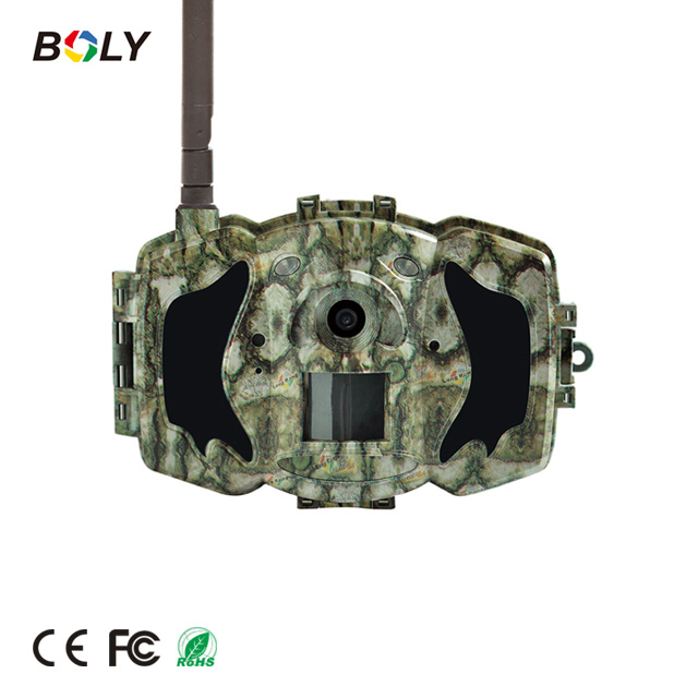 "30M 1080P HD Black IR 3G MMS/GPRS thermal hunting camera and trail cam with 3"" LCD screen"