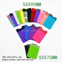 hot selling mobile phone case card holder wallet card holder multiple wallet id card wallet size