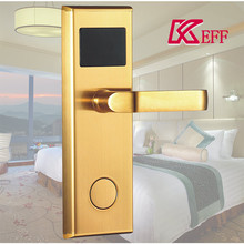 2017 high quality rfid new stainless steel hotel door lock for villa use