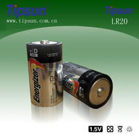 1.5V Energizer E95 LR20 D size Alkaline Battery for Flashlight