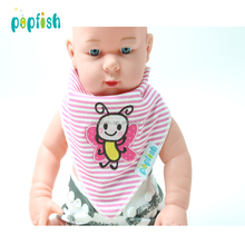 Popfish Infants Toddlers Bandana Baby Print Scarf Bibs Jersey Fashion