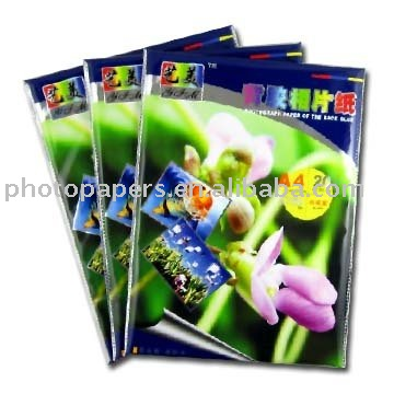 180g one side glossy cast coated printing photo paper