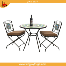 excellent quality mosaic bistro table and chair