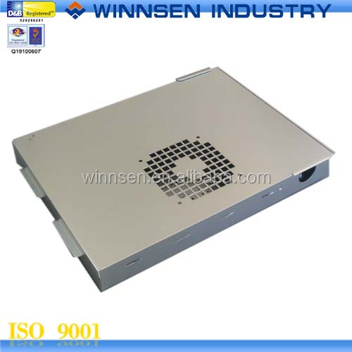 Different Types Stainless Steel Fabricated Aluminum Enclosure Electrical Box for Telecom Industry YS1005