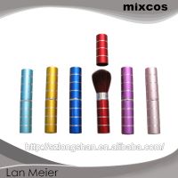Screen printing LOGO make up brush , nylon hair professional makeup brush set