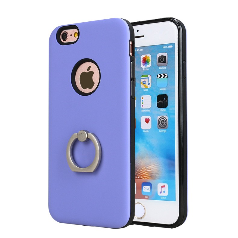 2 in 1 armor kickstand hybrid case with ring kickstand for iphone 7
