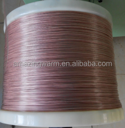 customized pvc heating wire FEP heating wire silicone rubber heating wire
