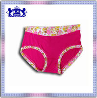 hot selling fashion design sexy lady cheap wholesale high quality wholesale printed panty in women