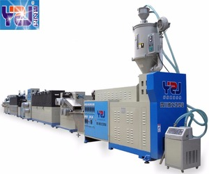 Box Packing Plastic PP Strap Band Making Machine from China Supplier
