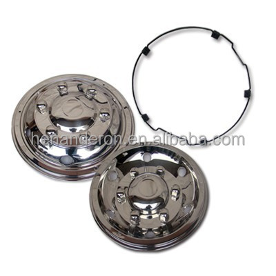 17.5 Universal Stainless Steel Wheel Cover,Wheel Trim for bus and truck