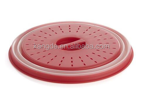 Collapsible Microwave Cover/Foldable Vegetable Basket/Microwave oven Lid for Dish Plate