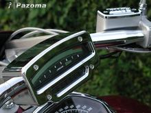 Hot Sale Motorcycle Chrome Aluminum Speedo Gauge Tach Covers For Suzuki Boulevard M109R