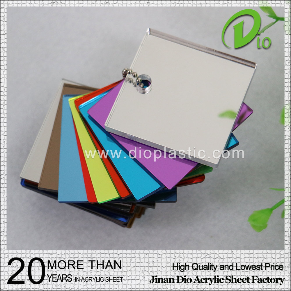 china factory flexible mirror plastic sheet 1mm
