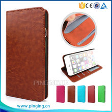 Pure Color Wallet Style With Card Slots Magnet Leather Flip Case Cover For Wiko Sunny