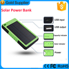 Universal 5000mAh solar charger power bank with ce fc rochs on China electronics market
