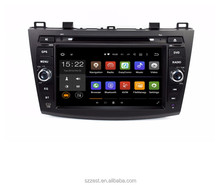 7 inch Quad core Android 7.1 Car DVD Player GPS navigation for Mazda 5 multi-media system stereo unit