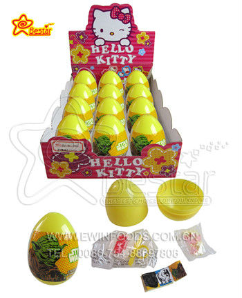 Surprise Egg Toy with Toy Candy Sticker