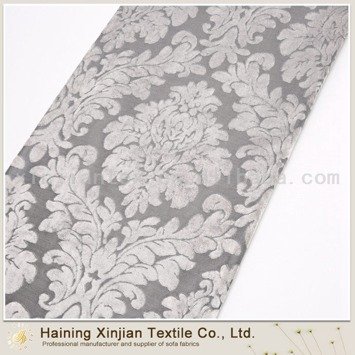 Elegant Design burnout silk velvet fabric