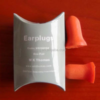 2015 cheap ear plugs foam bell shaped sleeping ear plugs (SNR:33db) hearing protection sleeping ear plugs