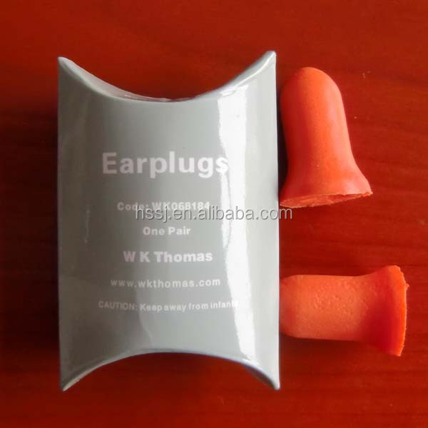 2016 cheap foam ear plugs foam bell shaped sleeping ear plugs (SNR:33db) hearing protection sleeping ear plugs