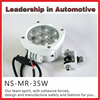 4.3inch 35w Led Marine Light Waterproof Salt Resistant Boat Deck Lights for Marine Driving Light Led