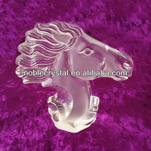 Crystal Horse Head Model