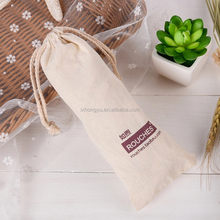 Well quality 140gsm cotton drawstring bag