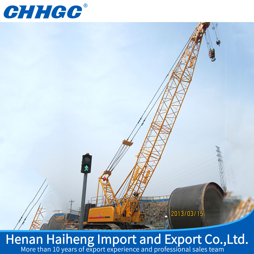 Professional Efficient used crawler crane, crawler crane price for Construction