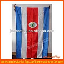 cheap printed flag of Costa Rica