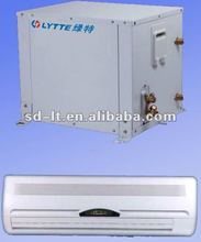Central Air Conditioning Small Size Copeland Scroll Compressor Geothermal Heat Pump and Terminal Equipment Fan Coil Unit