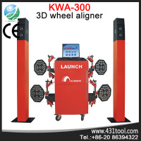 3D wheel aligment CE LAUNCH hot sale machine for garage