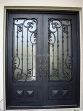 Arched Top Iron Entry Door Models FD-572