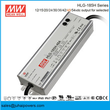 GuangZhou Meanwell IP67 HLG-185H Series HLG-185H-48A 185W 48V LED Flood Light Driver