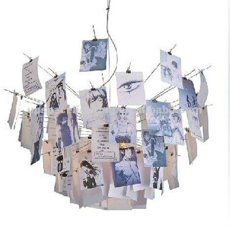 Modern Christmas Led Light Ingo Maurer Zettel Suspension Light - Buy ...