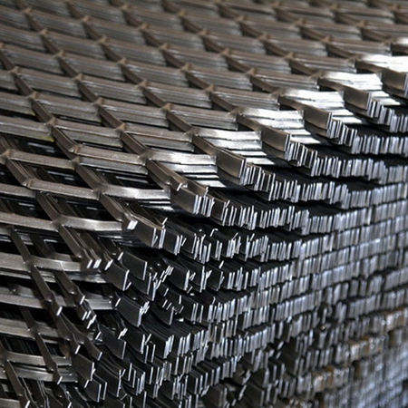 4mm thickness low carbon steel expanded metal mesh ( Anping factory )