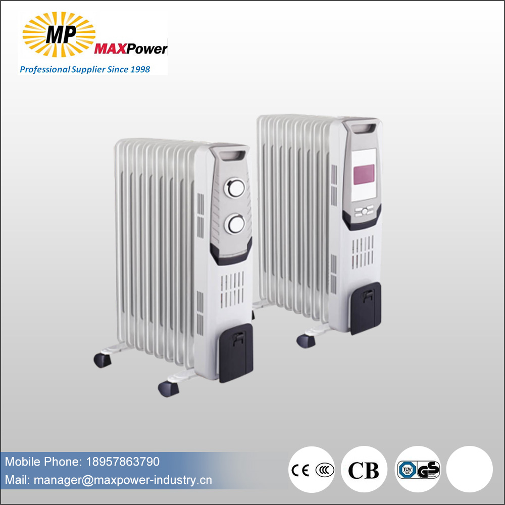 hot sale oil filled heater with turbo fan with CE CB RoHS in high quality
