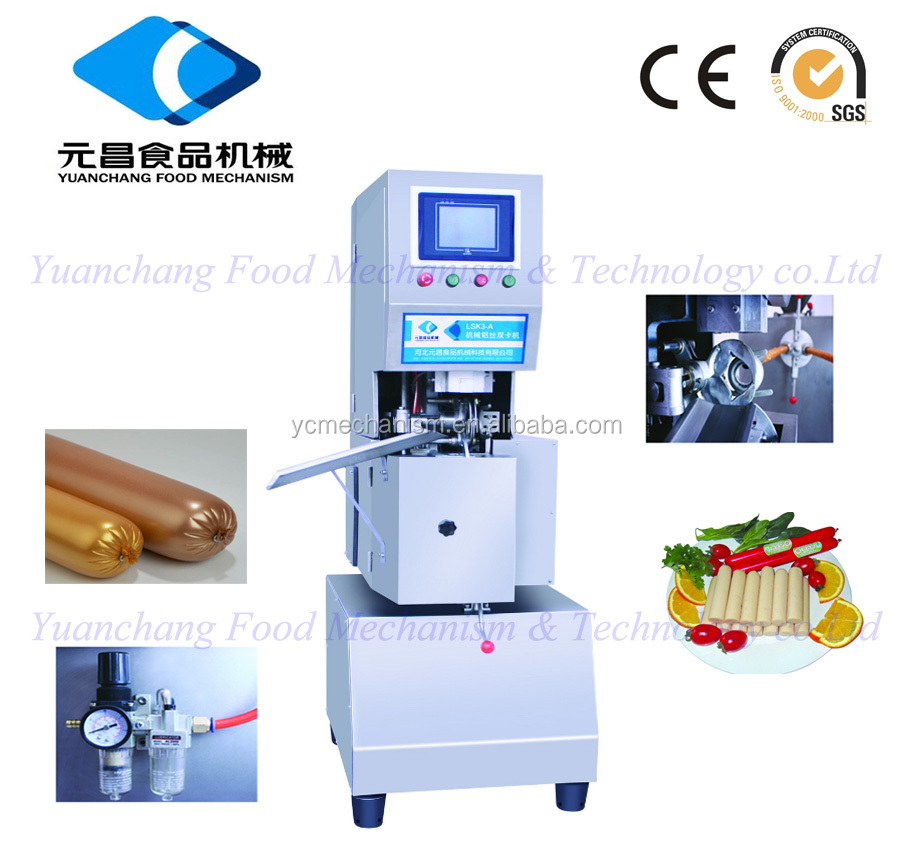 pneumatic Aluminum Wire Double Clipper for sausage