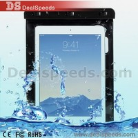 Waterproof Bag Case for iPad 2 Case Waterproof with Strap, Size 25 x 20cm