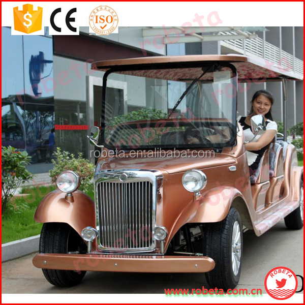 New Design Electric Tourist Car/Vintage Retro hotel electric car