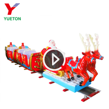 Hot Sale High Quality Outdoor Kids Mini Carnival Christmas Amusement Theme Park Rides Electric Mall Trains